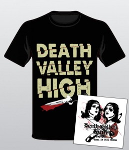 Death Valley High Doom in Full Bloom CD and Shirt