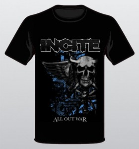 Incite All Out War T-Shirt