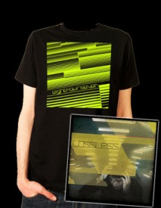 EIGHTFOURSEVEN Lossless T-Shirt and CD Combo